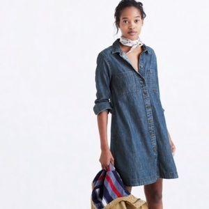 Madewell Denim Shirt Dress, Size Large
